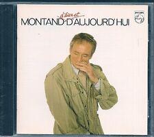 CD ALBUM 14 TITRES--YVES MONTAND--MONTAND D'HIER ET D'AUJOURDHUI----1980