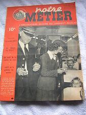 Notre Métier 1948 158 les hotesses du rail viaduc AVIGNON