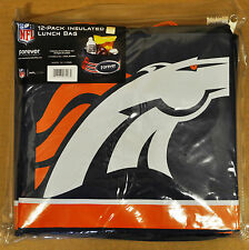 Denver Broncos Insulated soft Lunch Bag Cooler New - BIG LOGO - 12 Pack