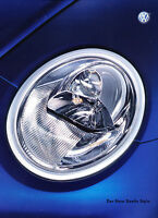 2002 Volkswagen New Beetle German Sales Brochure