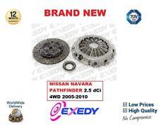pour Nissan Navara Pathfinder 2.5 dCi 4WD 2005-2010 NEUF Exedy 3 pièces Kit