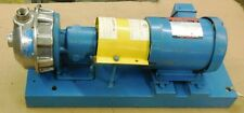 GOULDS CENTRIFUGAL PUMP FG1ST110, 1 x 1 / 4 - 6, 1.5HP UNIMOUNT 125 MOTOR F033