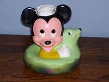 Vintage 1984 Disney Mickey Mouse Squeaky Toy.. Look!