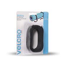 VELCRO® WEBBINGS 25mm x 2m x 400kg UV Stabilised Straps Tie Outdoor Use 2 Pack