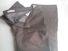 Lee Relaxed Straight Leg At The Waist Women's Brown Denim Jeans 18 Medium