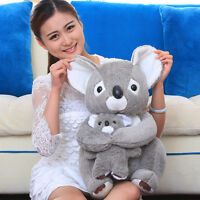 38cm Sitting Gray Koala Teddy Bear Plush Stuffed Animal Doll Soft Toy Gift Newly