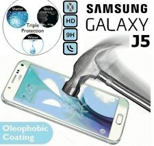 Véritable Verre Trempé Film 9H Protège Écran J500F pour Samsung Galaxy J5 2015