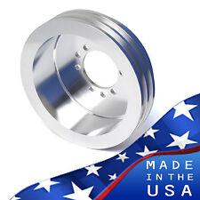 Pontiac 2V Crankshaft Pulley 350 400 428 455 Crank Billet Aluminum 6 Bolt Damper