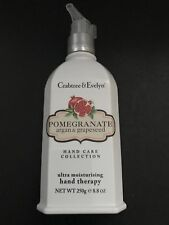 CRABTREE & EVELYN POMEGRANATE ARGAN  & GRAPESEED MOISTURIZING HAND THERAPY 8.8OZ