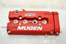 Mugen Style Rocker Valve Cover Red Civic B16 B17 B18 Vtec GSR