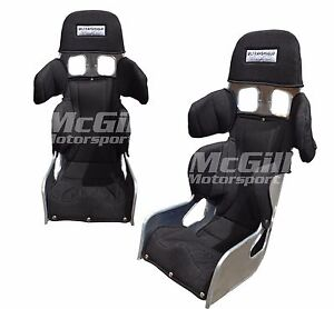 """Ultra Shield Junior Total Support Race Seat Black Cover Size 11"""" Ultrashield"""