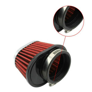 2×55mm Cold Air Intake Filter Turbo Vent Crankcase Car Breather Valve Cover Red