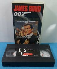 VHS CLASSIC JAMES BOND 007 COLLECTION VINTAGE - OCTOPUSSY