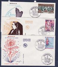 MONACO   enveloppe 1er jour    centenaire de la salle Garnier   II   1979