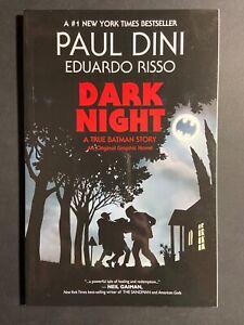 Dark Night: A True Batman Story TPB Graphic Novel 2016 Vertigo Comics