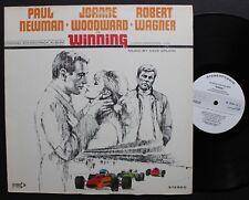 """Dave Grusin Decca White Label DJ Only Jazzy Funk OST LP """"Winning"""""""