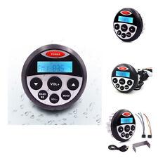 Marine Bluetooth Audio Stereo FM AM Radio Car Boat Yacht ATV MP3 Player USB Aux