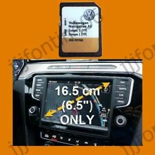 2018-2019 V9 VW Discover Media Navigation AS Map UK GB Europe Sat Nav SD Card
