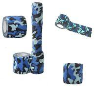 Self-adhesive Non-woven Camouflage Wrap Rifle Gun Hunting Camo Stealth Tape 1pc