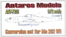 Ant7206/Antares-Conversion per Messerschmitt me-262 w1 - 1/72 - RARO