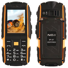 Unlocked Dual Sim GSM Rugged Mobile Phone 4800mAh Cellphone NO.1 A9 Waterproof