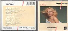 PATTY PRAVO raro CD SENTIMENTO fuori catalogo MADE in ITALY 1987 stampa ITALIANA
