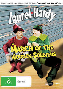 March Of The Wooden Soldiers Laurel & and Hardy Movie DVD Babes in Toyland 1934