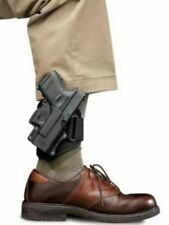 New Fobus GL-43 ND AN Right Hand Black Tactical Ankle Holster For Glock 43