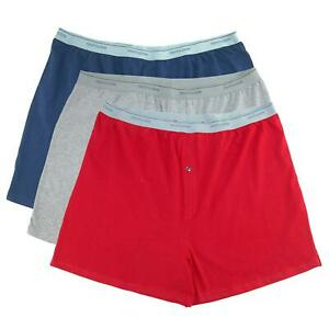 New Fruit of the Loom Men's Big Size Knit Boxer Underwear (Pack of 3)