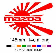 MAZDA - sticker mx5 rx7 rx8 3 6   drift illest turbo jdm ute car decal