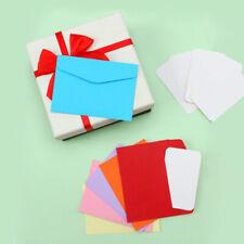 120er Mini Umschläge Set Briefumschläge Brief Umschlag Versandtaschen 115 x 80mm