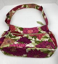 Vera Bradley Hello Dahlia On The Go Crossbody Shoulder Bag Excellent Condition