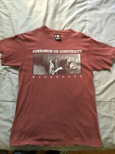 Corrosion Of Conformity Vintage Wiseblood Shirt 90's Rare Stoner Metal Thrash L