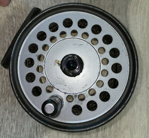 The Viscount 150 fly reel in bag by Hardy Bros Ltd, England