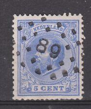 NVPH Netherlands Nederland 19 TOP CANCEL PURMEREND (89) Willem III 1872