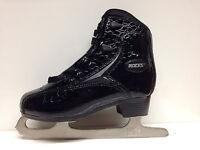 Roces Glamour  Croco schwarz Eiskunstlauf Freizeit Gr. 41 Damen Schlittschuh
