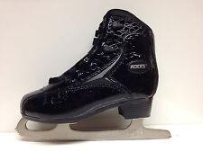Roces Glamour  Croco schwarz Eiskunstlauf Freizeit Gr. 35 Damen Schlittschuh