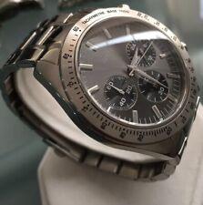 Mens Genuine Guess Chase Chronograph Designer Watch W13001G1 Daytona Black Grey