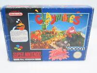 CLAYMATES   Nintendo Super Nintendo SNES Spiel   in OVP mit Anleitung