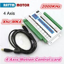 4 Axis USB Mach3 2000KHZ XHC MK4 Motion Control Card Breakout Board CNC Router