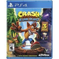 Crash Bandicoot NSane Trilogy PS4 NUEVO PRECINTADO ESPAÑOL CASTELLANO PAL