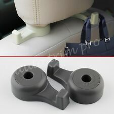 Gray Styling Parts Car Seat Back Hanger Headrest Hook Holder For Bags Goods