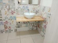 mensola in legno per lavabi o similari