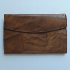 vintage St. Thomas ladies cowhide leather wallet or clutch—made c.1970—excellent