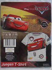 Cars Disney T-Shirt Kurzarm Kinder Jungen McQueen Größe 110/116 NEU/OVP