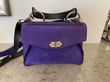 Proenza Schouler Small Purple Hava Top Handle bag