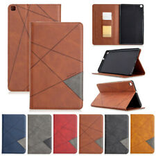 Splice Wallet Leather Flip Case Cover For Samsung Galaxy Tab T307 P610 T860 T290
