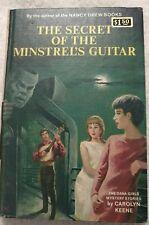 Nancy Drew Auth Dana Girls FIRST EDITION  #29 Minstrel's Guitar 1967 HTF