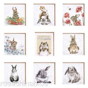 Wrendale Greeting Card Rabbit