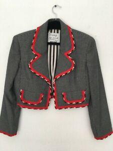 Moschino Cheap and Chic Bolero Jacket Made in Italy
